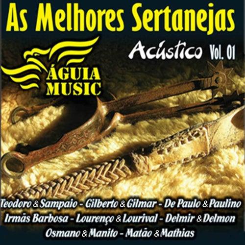 As Melhores Sertanejas, Vol. 1 (Acústico) de Various Artists