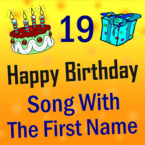 Song with the First Name, Vol. 19 de Happy Birthday