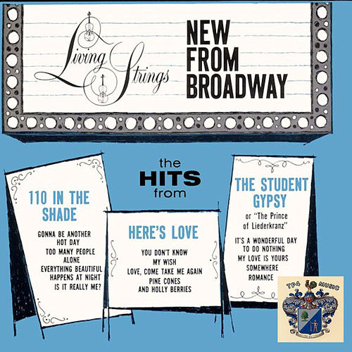 New from Broadway von Living Strings