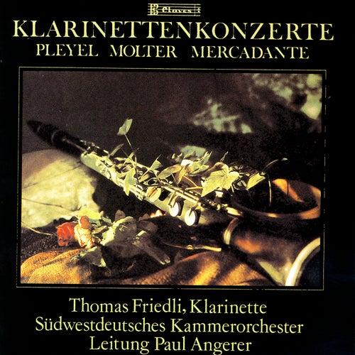 Concertos Pour Clarinette Et Orchestre by Thomas Friedli