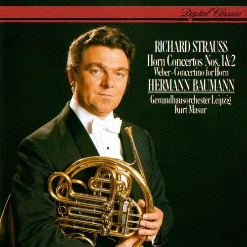 Richard Strauss: Horn Concertos Nos. 1 & 2 / Weber: Concertino For Horn & Orchestra de Kurt Masur