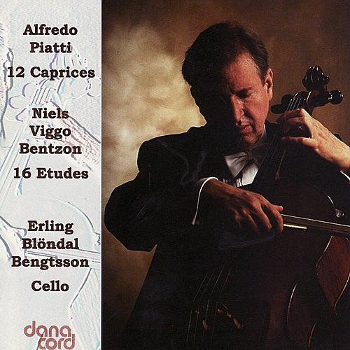 Piatti / Bentzon: 12 Caprices / 16 Etudes by Erling Blöndal Bengtsson