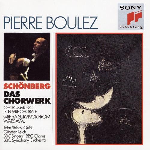 Schoenberg:  Choral Music by Pierre Boulez