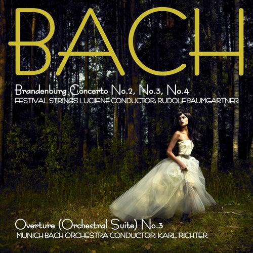 Bach: Brandenburg Concertos, No. 2, No. 3 & No. 4 & Overture (Suite) No. 3 de Festival Strings Lucerne