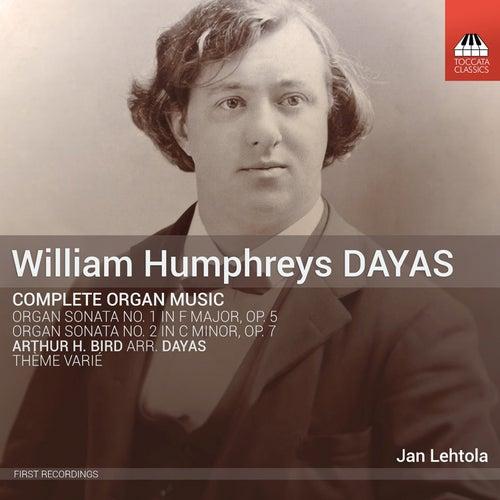 Dayas: Complete Organ Music de Jan Lehtola