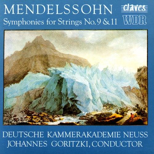 Mendelssohn/ String Symphonies Nos. 9 & 11 by Various Artists