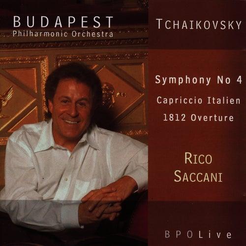 Tchaikovsky Symphony No 4, Capriccio Italien, 1812 Overture by Budapest Philharmonic Orchestra