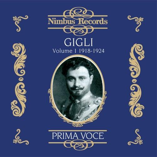 Gigli Vol. 1 (Recorded1918-1924) de Beniamino Gigli
