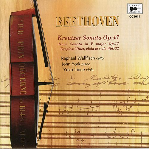 Beethoven: Chamber Works by Raphael Wallfisch