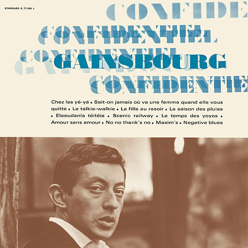 Confidentiel de Serge Gainsbourg