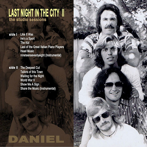 Last Night in the City II (The Studio Sessions) de Daniel