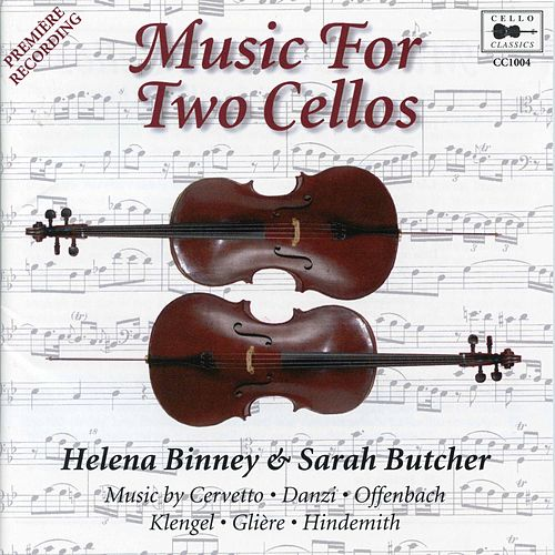 Music for 2 Cellos de Sarah Butcher