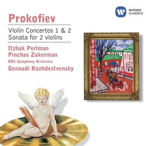 Prokofiev: Violin Concertos Nos.1&2; Sonata for 2 violins by Itzhak Perlman