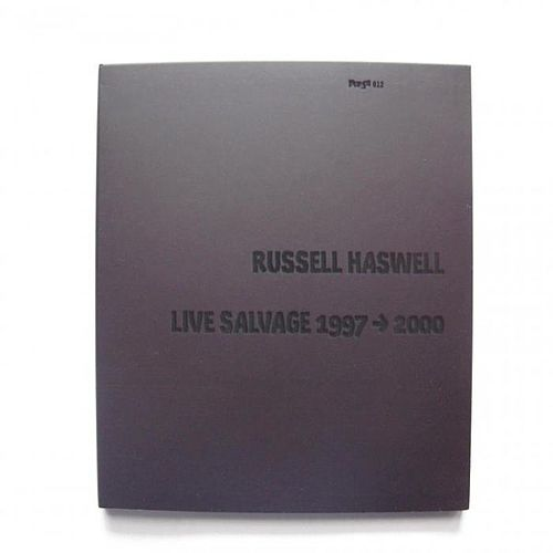 Live Salvage 1997->2000 von Russell Haswell