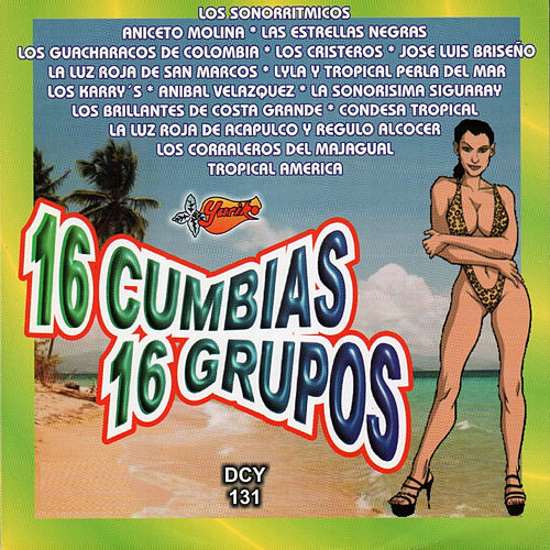 16 Cumbias, 16 Grupos de Various Artists