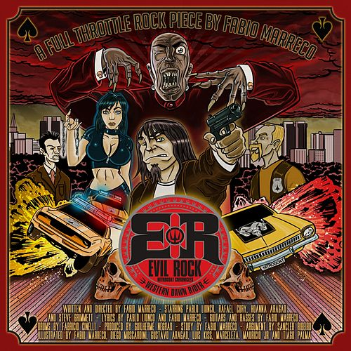 A Full Throttle Rock Piece (Western Dawn Rider) de Evil Rock