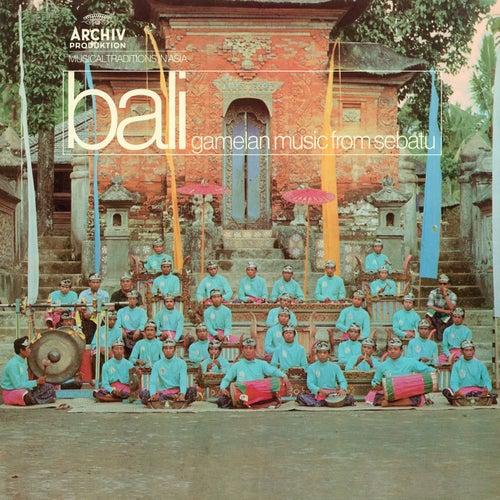Musical Traditions In Asia: Gamelan Music From Bali de Gong Kebyar De Sebatu
