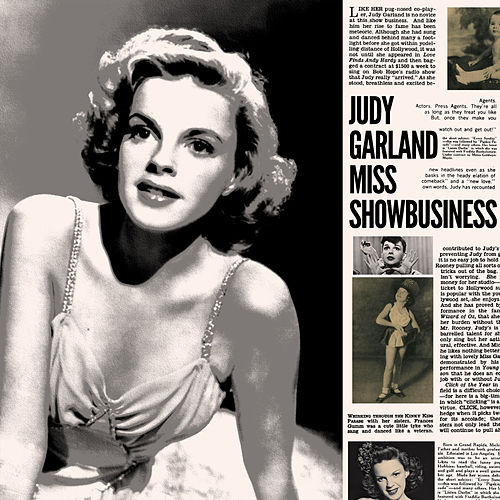 Judy Garland - Miss Showbusiness de Judy Garland