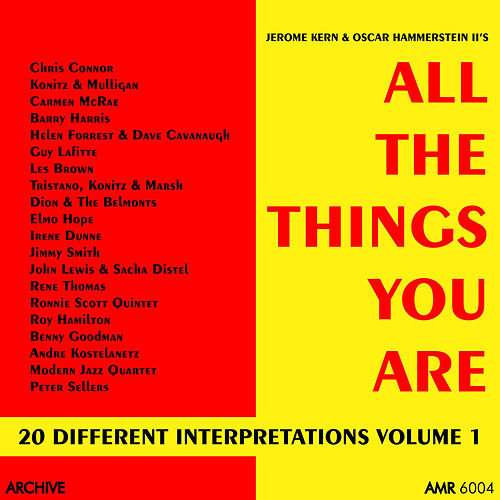 All the Things You Are (20 Different Interpretations) Volume 1 de Various Artists