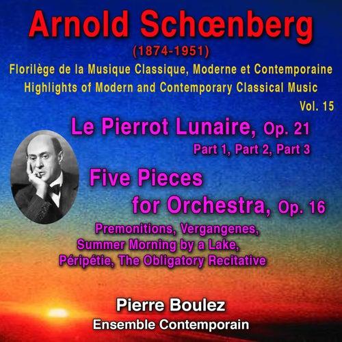 Arnold Schoenberg de Pierre Boulez