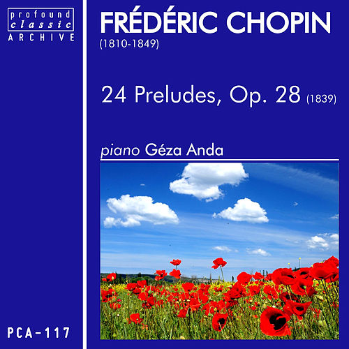 Chopin: 24 Preludes by Géza Anda