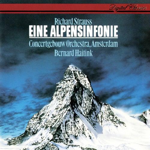 Richard Strauss: Eine Alpensinfonie de Bernard Haitink