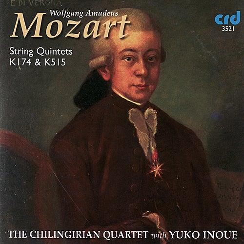 Mozart: String Quintets K. 174 and K. 515 von Chilingirian Quartet