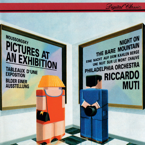 Mussorgsky: Pictures At An Exhibition; A Night On The Bare Mountain de Riccardo Muti