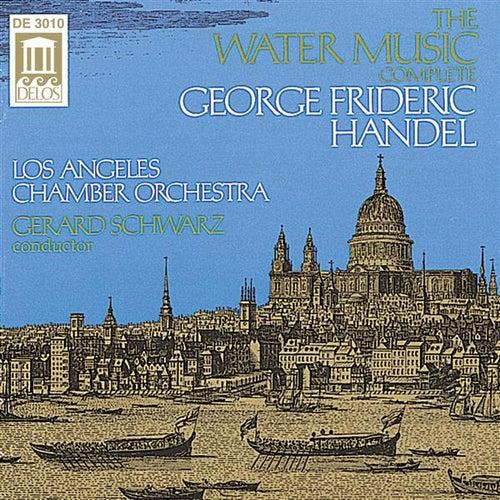 HANDEL, G.: Water Music (Complete) (Los Angeles Chamber Orchestra, Schwarz) de Gerard Schwarz