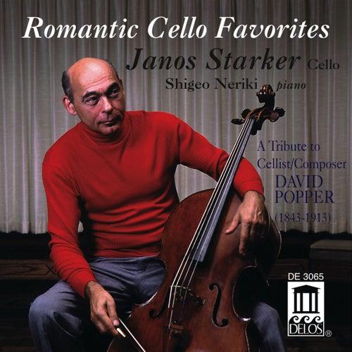POPPER, D.: Cello Music (Romantic Cello Favorites) (Starker) fra Janos Starker