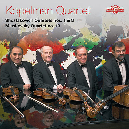 Shostakovich & Miaskovsky: String Quartets von Kopelman Quartet