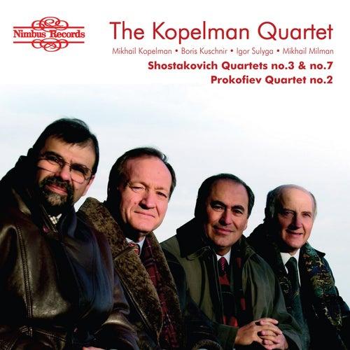 Shostakovich & Prokofiev: String Quartets von Kopelman Quartet