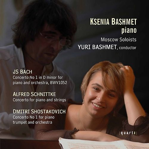 Bach, Schnittke, Shostakovich: Concertos - Moscow Soloists by Ksenia Bashmet