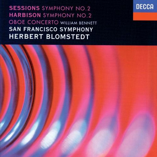 Harbison: Symphony No. 2; Oboe Concerto / Sessions: Symphony No. 2 de Herbert Blomstedt