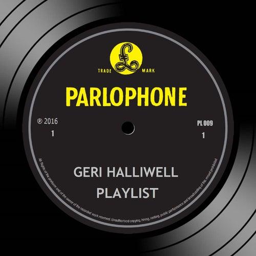 Playlist van Geri Halliwell