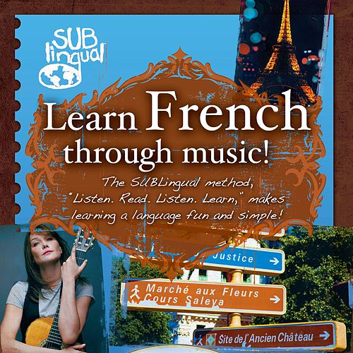 Learn French Thru Music de Various Artists