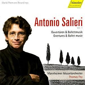 Salieri: Overtures & Ballet Music de Mannheimer Mozartorchester