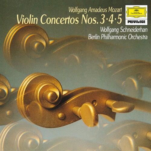 Mozart: Concertos For Violin And Orchestra, K.216, K.218 & K.219 by Berliner Philharmoniker