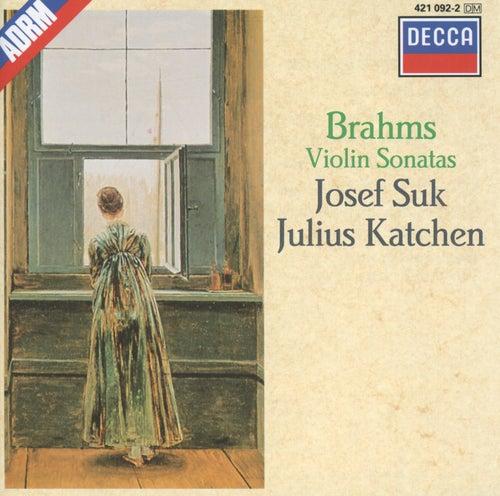 Brahms: Violin Sonatas Nos.1-3 von Josef Suk