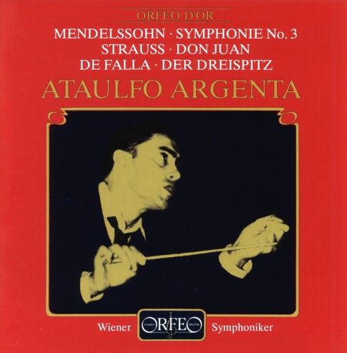 Mendelssohn, Strauss & De Falla: Orchestral Works (Live) de Vienna Symphony Orchestra