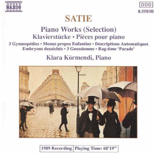 Piano Works (Selection) de Erik Satie