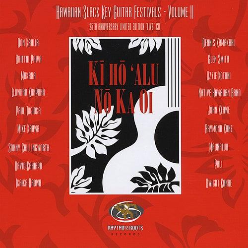 Hawaiian Slack Key Guitar Festivals - Vol. II de Various Artists