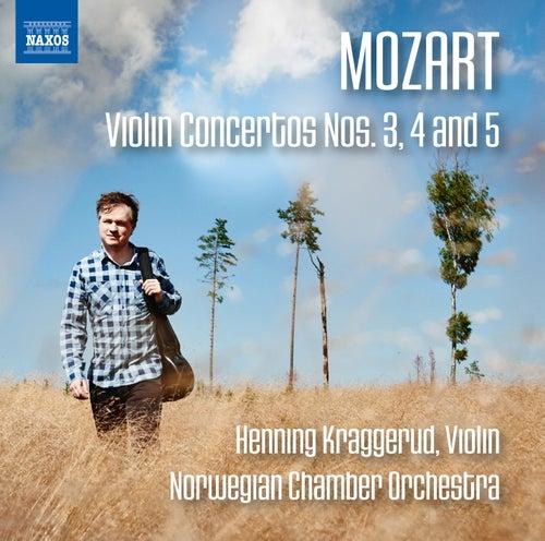 Mozart: Violin Concertos Nos. 3, 4 & 5 von Henning Kraggerud