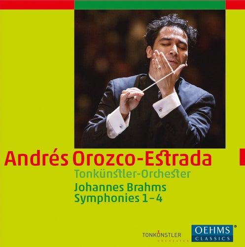 Brahms: Symphonies Nos. 1-4 by Tonkünstlerorchester