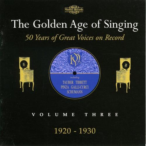 The Golden Age of Singing, Vol. 3 de Various Artists