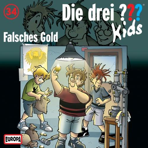034/Falsches Gold von Die Drei ??? Kids