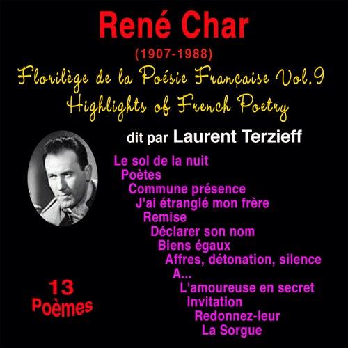 Florilège De La Poésie Française Vol 9 René Char De