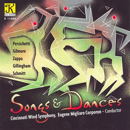 CINCINNATI WIND SYMPHONY: Songs and Dances von Various Artists