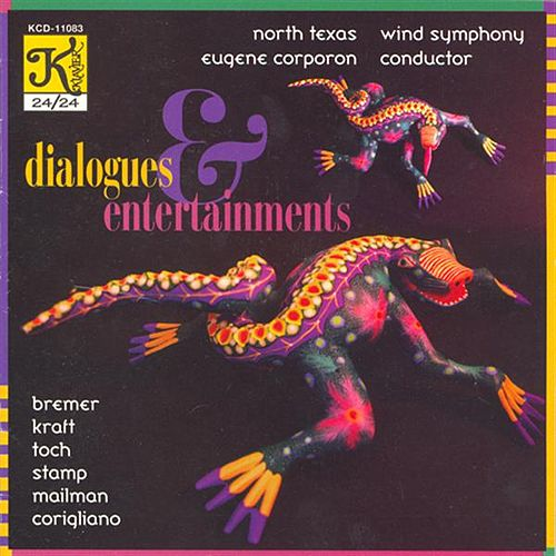 KRAFT: Dialogues and Entertainments / TOCH: Miniature Overture / STAMP: 4 Maryland Songs von Various Artists
