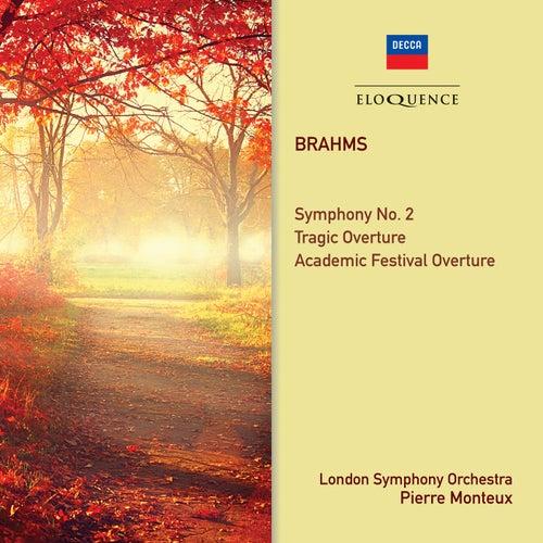Brahms: Symphony No. 2; Overtures de Pierre Monteux